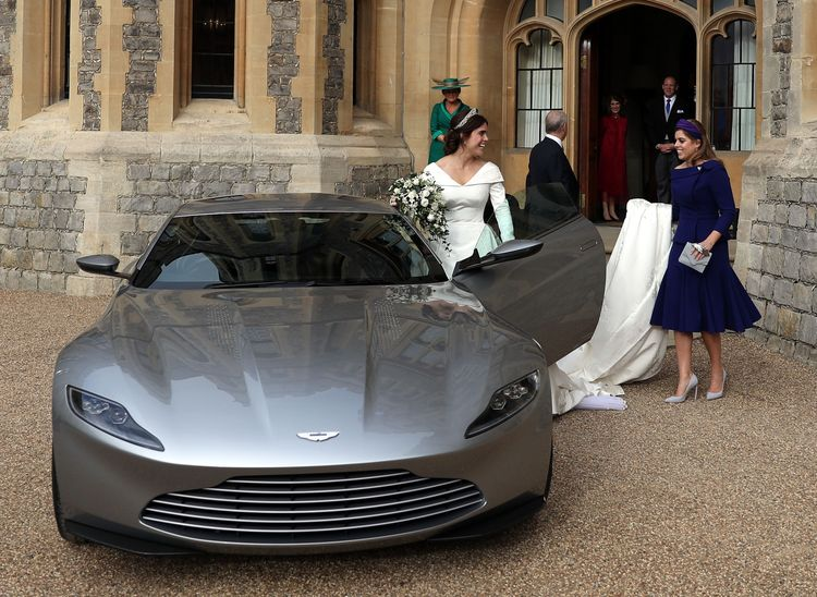 Princess Eugenie's Royal Wedding Car Is James Bond's Aston Martin DB10