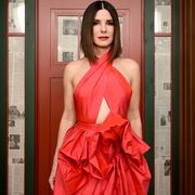 Red, Clothing, Dress, Beauty, Shoulder, Fashion, Gown, Pink, Fashion design, Haute couture,