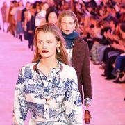 Fashion, Runway, People, Fashion show, Fashion model, Event, Spring, Fashion design, Fun, Haute couture,