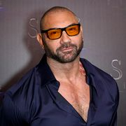 las vegas, nevada   april 02 actor dave bautista attends the state of the industry past, present and future stxfilms presentation at the colosseum at caesars palace during cinemacon, the official convention of the national association of theatre owners on april 02, 2019 in las vegas, nevada photo by gabe ginsbergwireimage