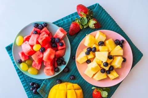 吃水果 正餐