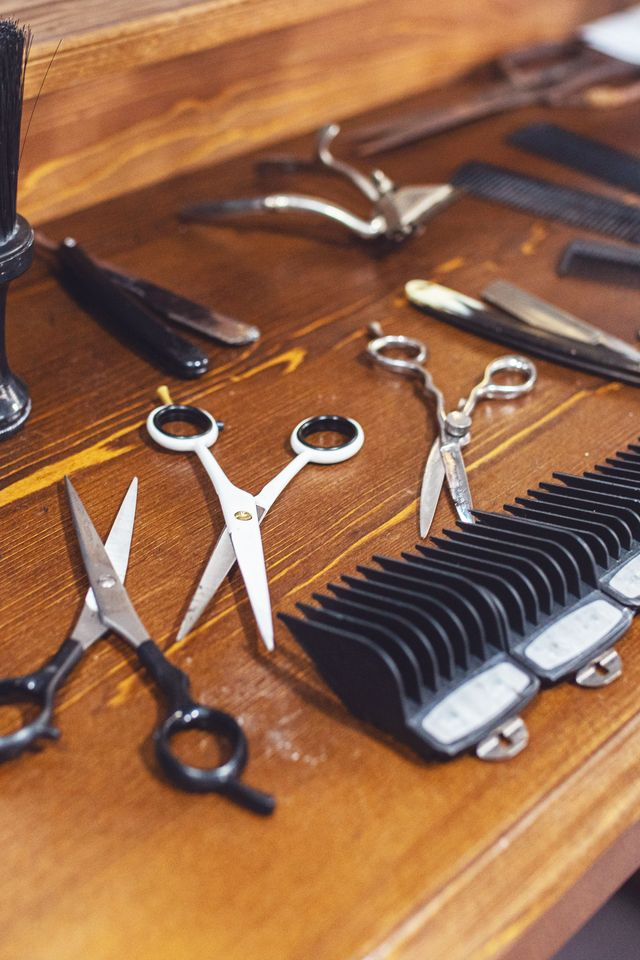 clippers and scissors