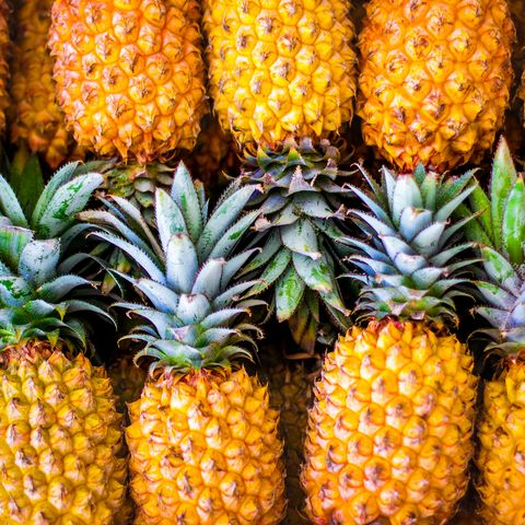 pineapple in the smoker men's health bbq