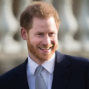 london, england   january 16 prince harry, duke of sussex hosts the rugby league world cup 2021 draws for the mens, womens and wheelchair tournaments at buckingham palace on january 16, 2020 in london, england photo by samir husseinwireimage