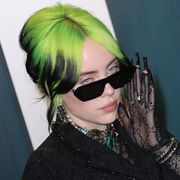 beverly hills, california   february 09 billie eilish attends the 2020 vanity fair oscar party at wallis annenberg center for the performing arts on february 09, 2020 in beverly hills, california photo by toni anne barsonwireimage