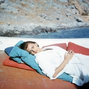Photograph, Turquoise, Vacation, Leisure, Bed, Mattress, Comfort, Furniture, Love, Textile,