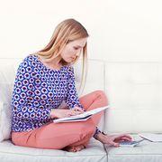 Sitting, Clothing, Nightwear, Pajamas, Leg, Design, Pattern, Shoulder, Joint, Neck,