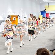 Fashion, Fashion show, Runway, Event, Fashion design, Crowd, Design, Fun, Performance, Dress,