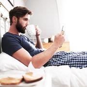 guy in pajamas