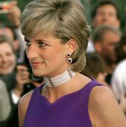 chicago, united states   june 05  princess diana arriving for gala dinner in chicago  photo by tim graham photo library via getty images