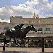 Churchill Downs Horse Race Track, Kentucky Derby, Louisville, Kentucky, USA