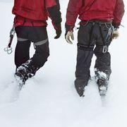 2 mountaineers in the swizz alpes