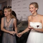 Anna Faris and Jennifer Lawrence