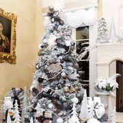 Christmas tree, Christmas decoration, Room, Home, Tree, Christmas, Interior design, Interior design, Living room, Plant,