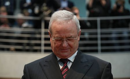 U.S. Charges Former VW CEO Martin Winterkorn with Four Felonies