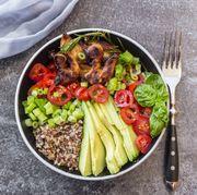 Food, Cuisine, Dish, Ingredient, Produce, Vegetable, Vegan nutrition, Vegetarian food, Lunch, Meal,
