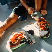 Man after a workout