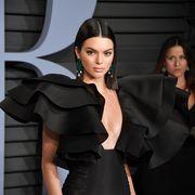 Clothing, Black, Shoulder, Fashion, Fashion model, Beauty, Little black dress, Dress, Model, Black hair,