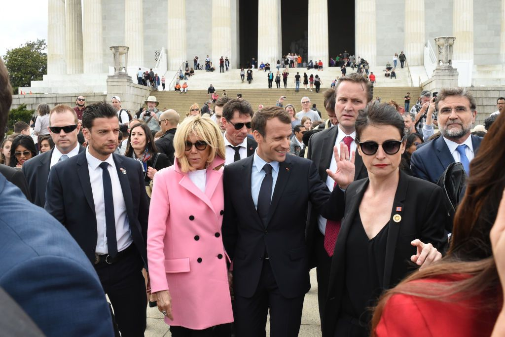 The Macrons Have the Hottest Security in Politics