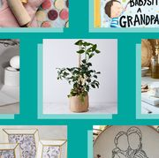 oven mit, how to babysit grandpa book, grandma's kitchen candle, citrus tree, cheese cellar, cross stitch, frame