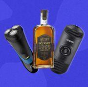 philips norelco shaver, uncle nearest 1856 premium aged whiskey, wacaco nanopresso