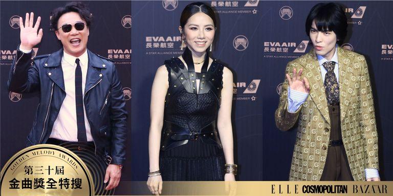 【金曲30】蕭敬騰驚喜現身紅毯,陳奕迅化身搖滾巨星!2019金曲獎紅毯造型直擊