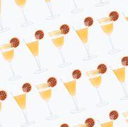 Stemware, Glass, Orange, Drink, Barware, Alcoholic beverage, Drinkware, Wine glass, Tableware, Champagne stemware,