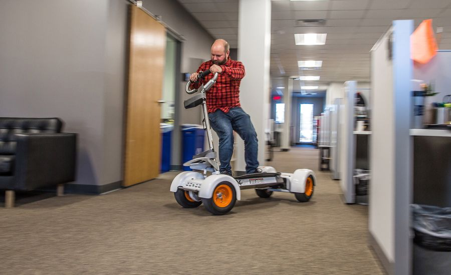 Stuff We Drove in The Office: GolfBoard ResortBoard