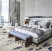 Bedroom, Furniture, Bed, Room, Bed frame, Interior design, Bed sheet, Property, Nightstand, Mattress,