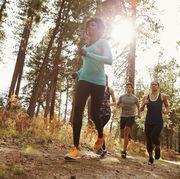 trail running vs road running