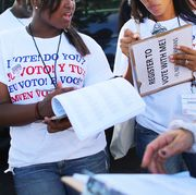 Florida Immigrant Coalition Holds Voter Registration Drive For New Americans