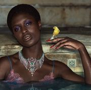 jodie turner smith in gucci high jewelry