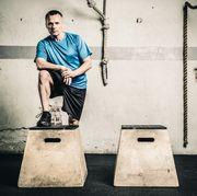 gym box jump