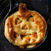 halloween dinner ideas pumpkin pot pie