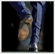 Prince Harry H on Shoe