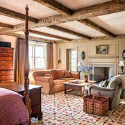 Room, Furniture, Living room, Interior design, Property, Building, Ceiling, House, Home, Beam,