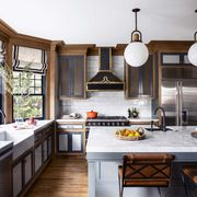 Countertop, Room, Furniture, Kitchen, Cabinetry, Property, Interior design, Building, Ceiling, Home,