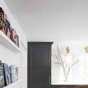 Room, Furniture, Shelf, Interior design, Property, Wall, Floor, Home, Shelving, Building,