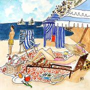 rufino report beach cabana