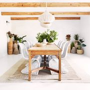 white, furniture, room, table, property, interior design, coffee table, dining room, house, ceiling,