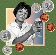 Money, Currency, Coin, Cash, Money handling, Illustration, Games, Saving,