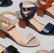 heeled city sandals