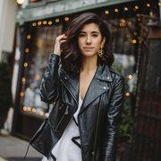 Street fashion, Fashion, Street, Jacket, Outerwear, Leather, Photography, Leather jacket, Model, Style,
