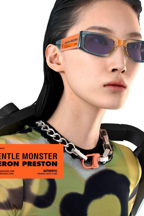 heron preston gentle monster sunglasses