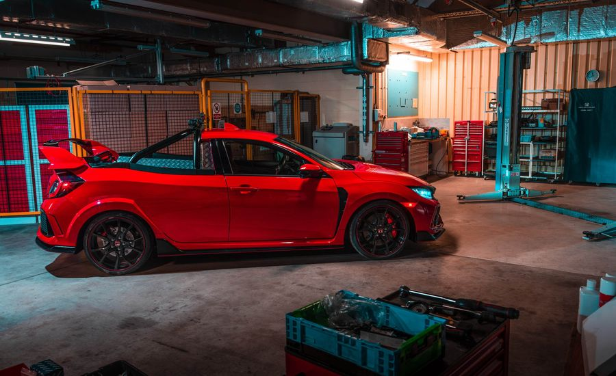 Bed, Track, and Beyond! Check Out This One-Off Honda Civic Type R Pickup
