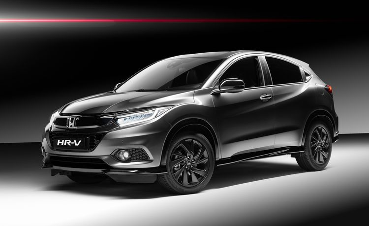 Honda HR-V Sport Has a Turbo, a Six-Speed Manual, and a Red Interior, but Only in Europe