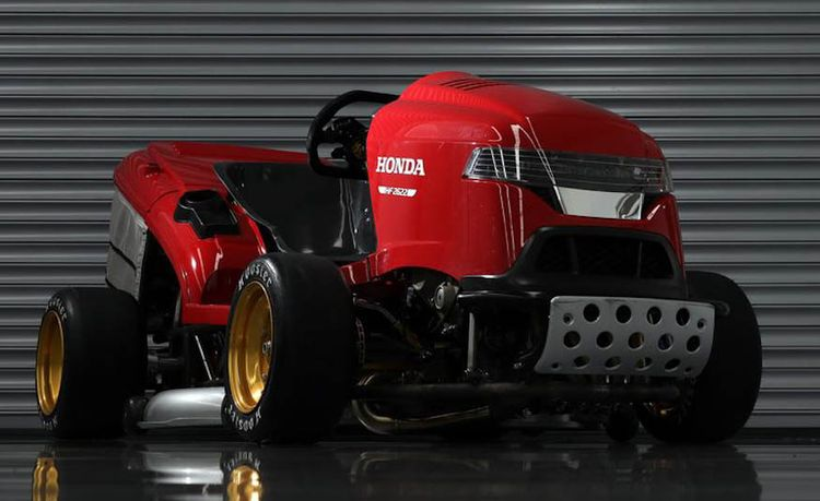 This Is Honda's New 150-MPH, 190-HP Lawn Mower