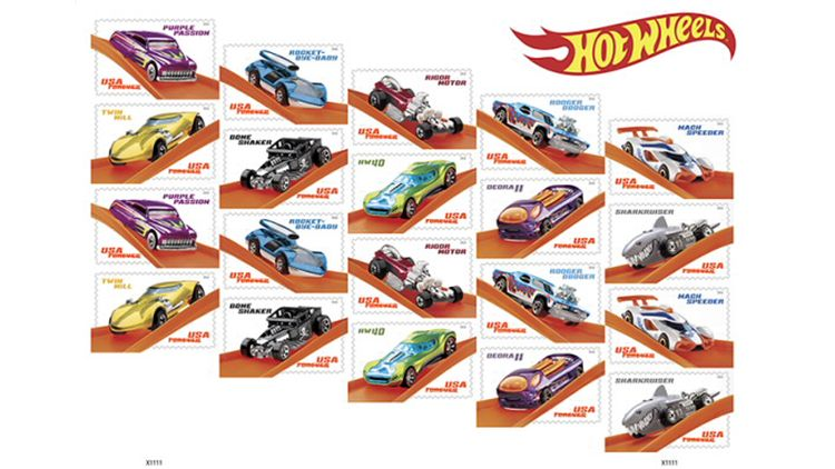 Hot Wheels Stamps Are Out, and They're Almost As Collectible as the Toys