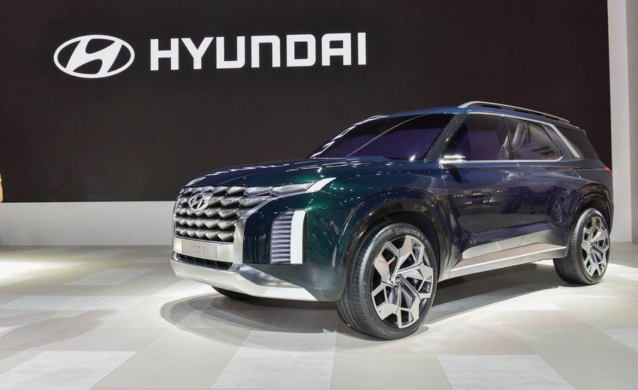 Hyundai's New Three-Row SUV Will Be Called the Palisade