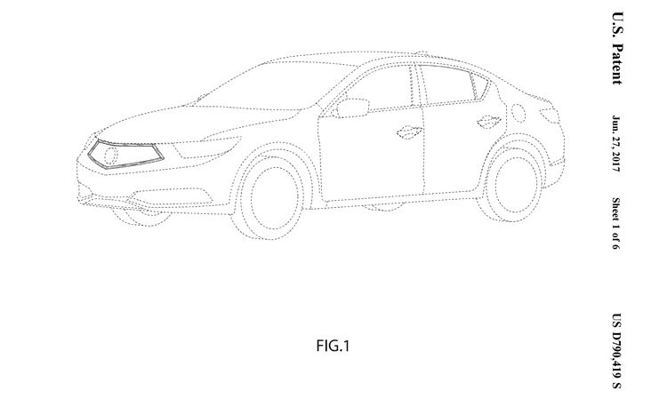 2019 Acura ILX's New Face Revealed in Patent Filings?